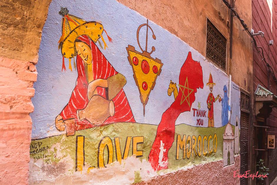 Streetsart in Marrakesh