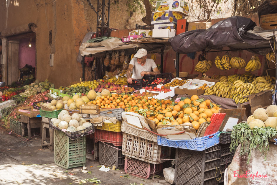 Marktstand in Marrakesh