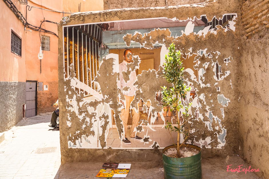 Streetart in Marrakesch