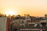 Sonnenuntergang Marrakesch
