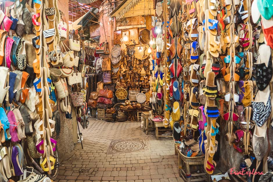 Souk in Marrakesch