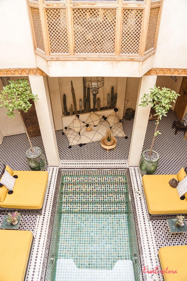Riad uebernachten Marrakesch