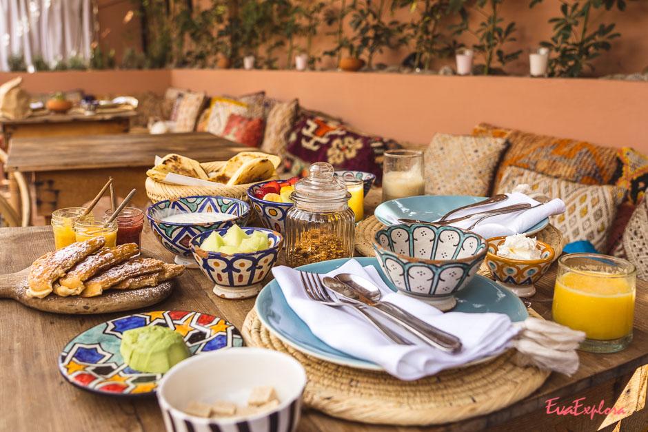 Riad BE Fruehstück