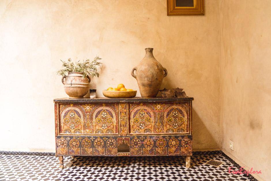 Deko in Marrakesch