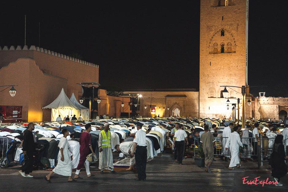 Reisen zum Ramadan