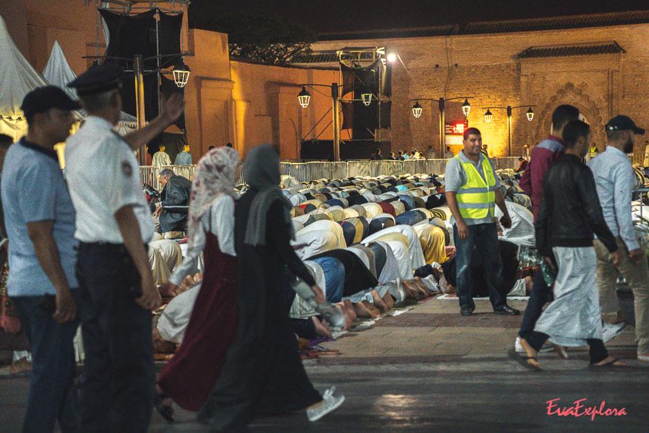Marrakesch im Ramadan