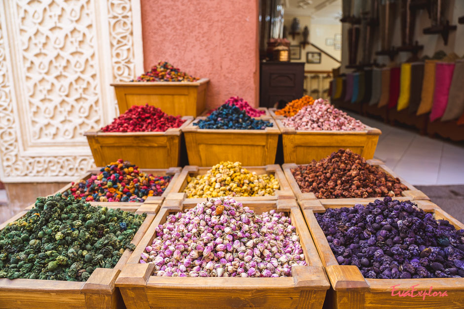 Gewuerze in Marrakesch