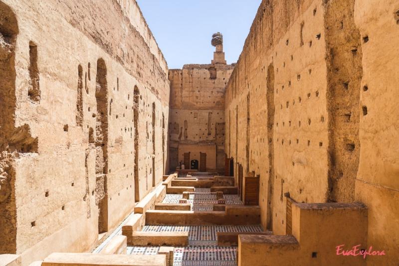 Baadi Palast Marrakesch