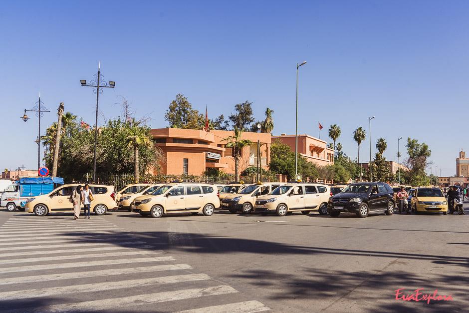 Taxi in Marrakesch