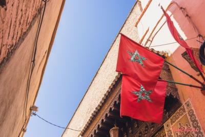 Marokko Fahne