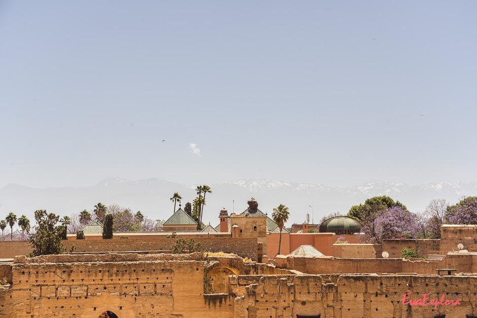 Sightseeing in Marrakesch