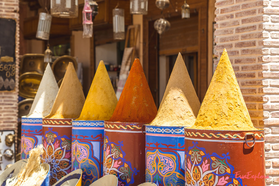 Gewuerze aus Marrakesch