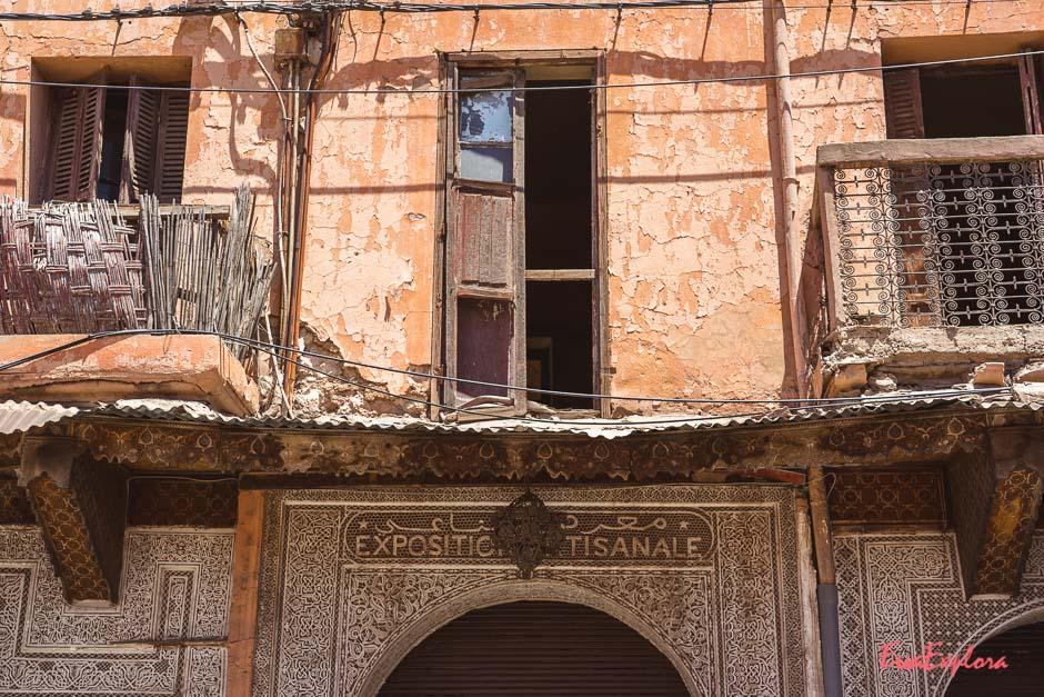 Spaziergang durch Marrakesch