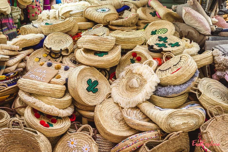 Taschen in Marrakesch
