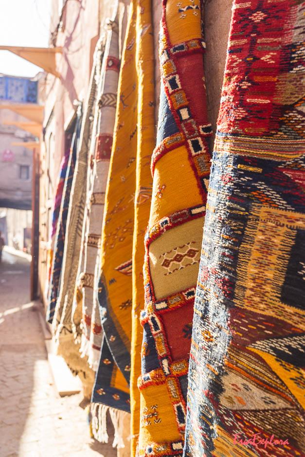 Teppichkaufen Marokko