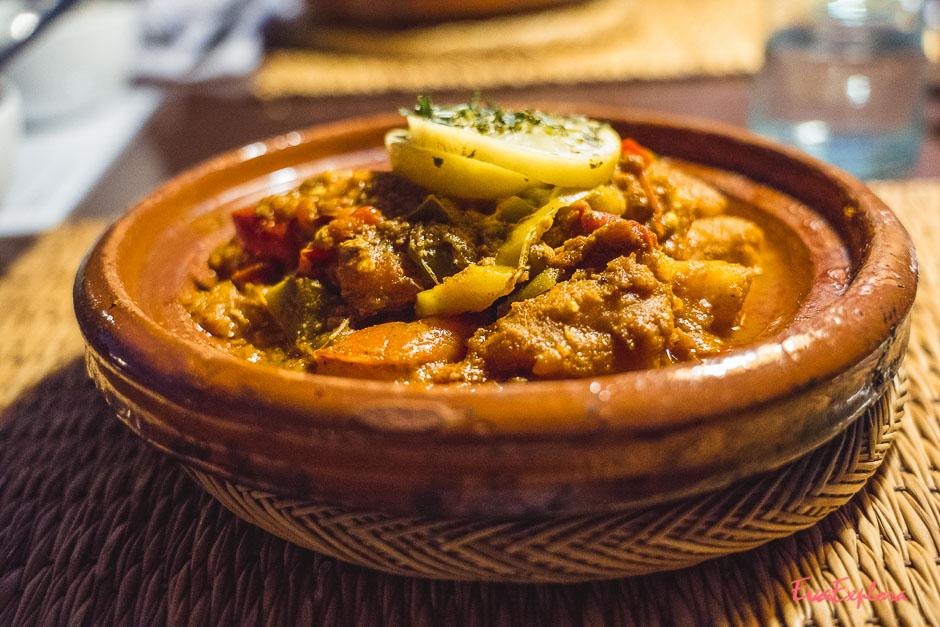 Tajine essen Marokko