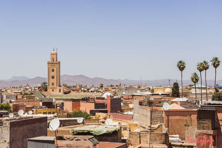 Marrakesch von oben