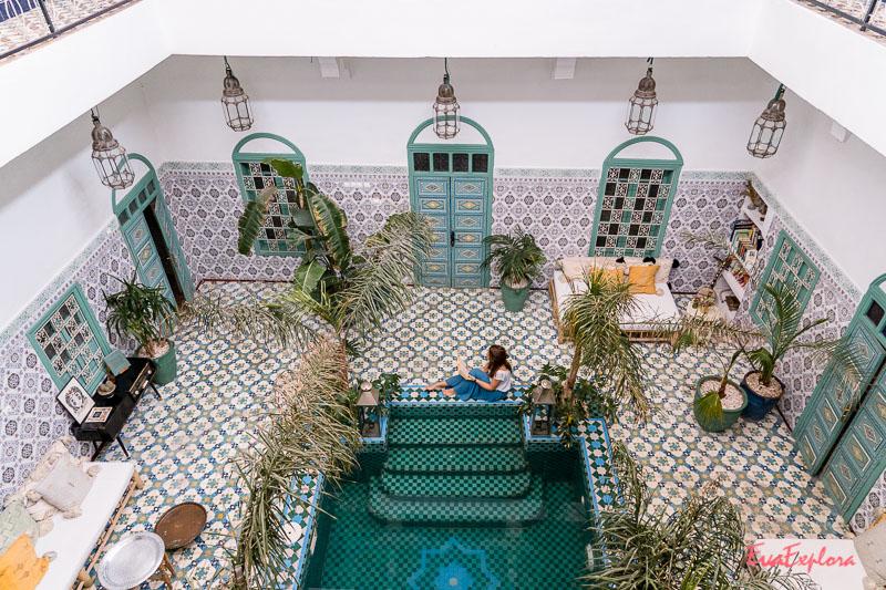 Riad in Marrakesch