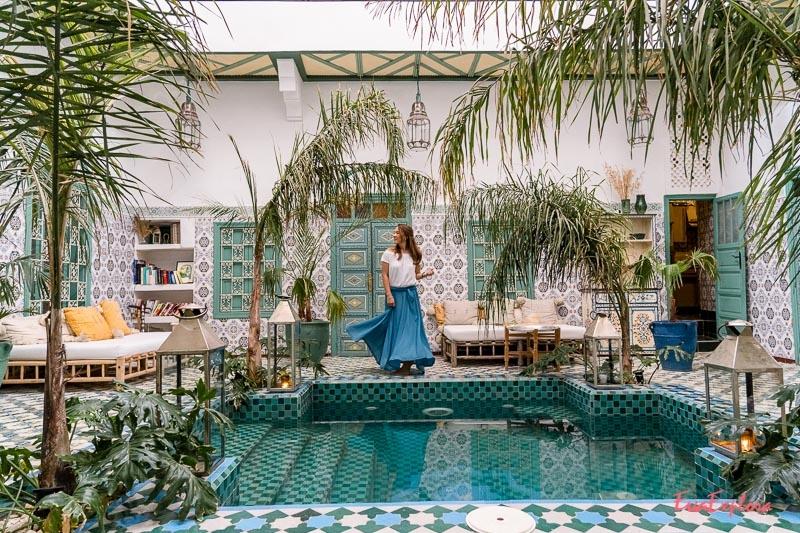 uebernachten in Marrakesch