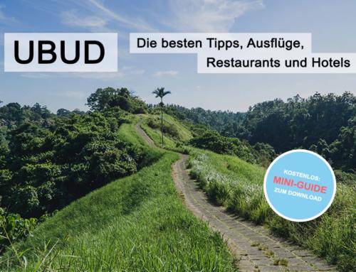 Ubud, Bali: Tolle Tipps für Ausflüge, Restaurants und Hotels