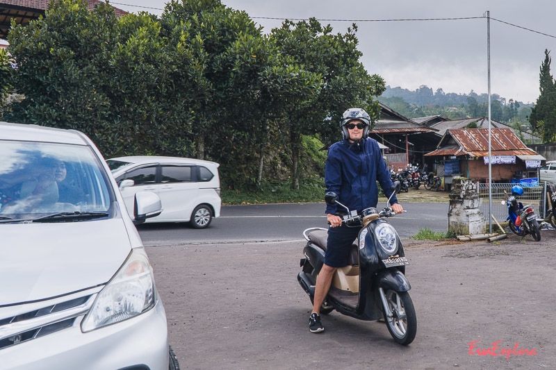 Roller fahren Bali