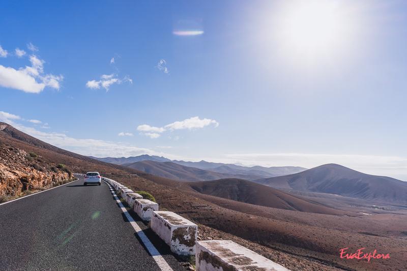 Bergpass auf Fuerteventura