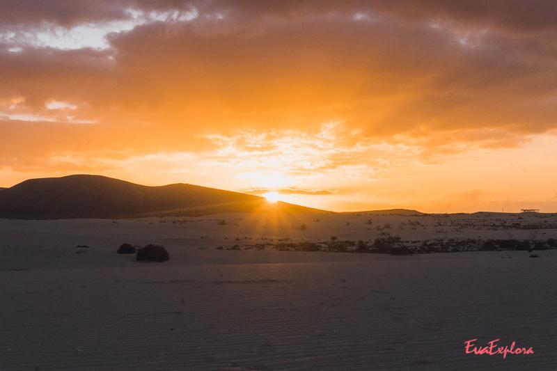 Sonnenaufgang Corralejo