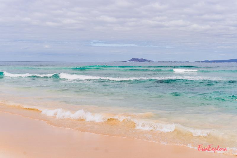 Strand vor Corralejo