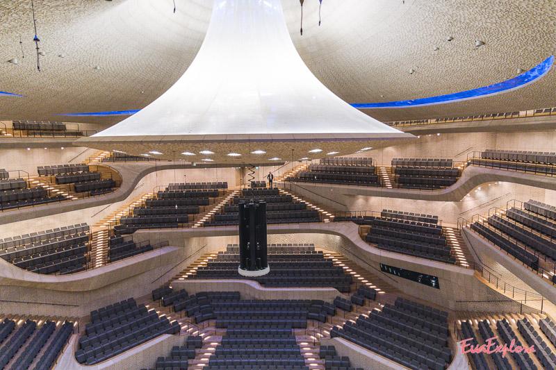 Großer Konzertsaal Elbphilharmonie