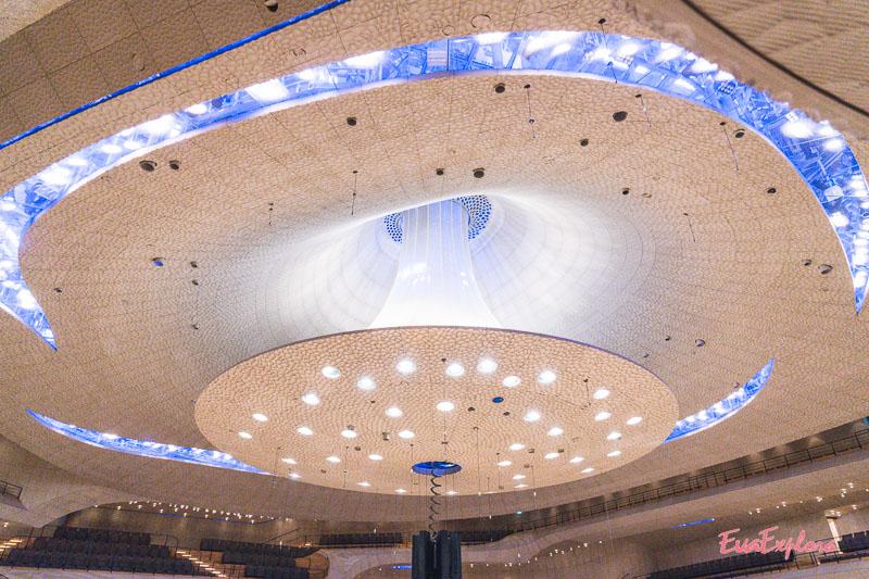 Kuppel des großen Konzertsaals