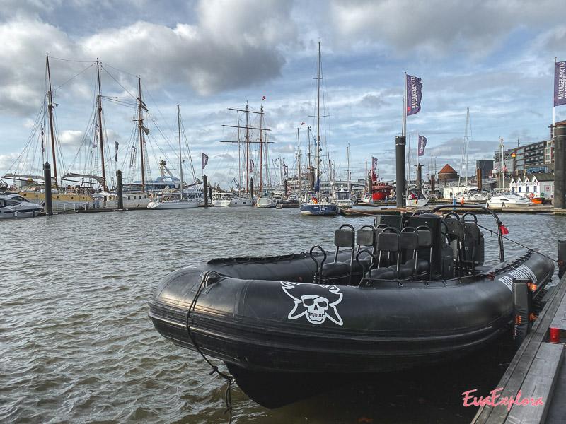 Schlauchboottour Hamburg