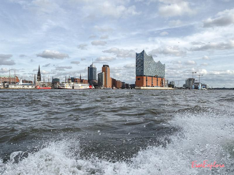 Hamburg Schlauchboot Tour