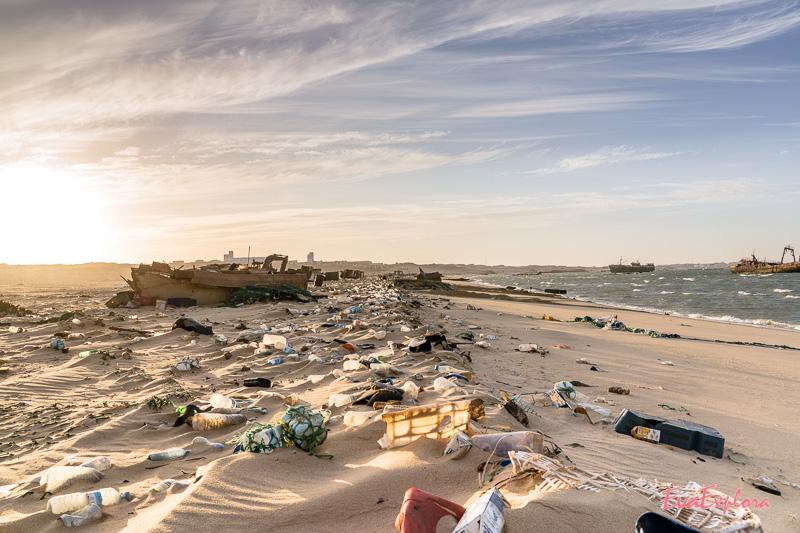Strand in Mauretanien
