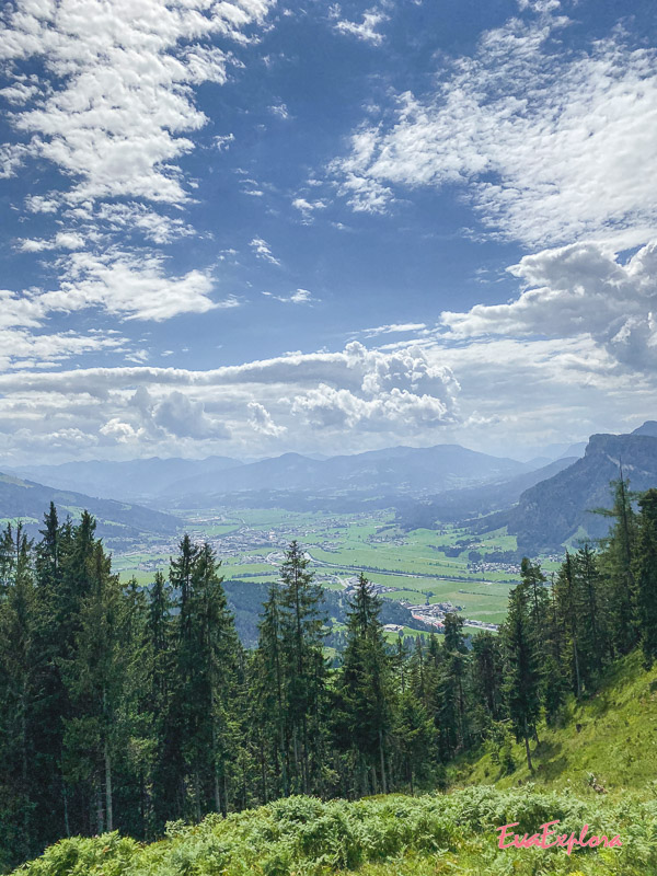 Ausblick Kalksteinalmen Kirchdorf