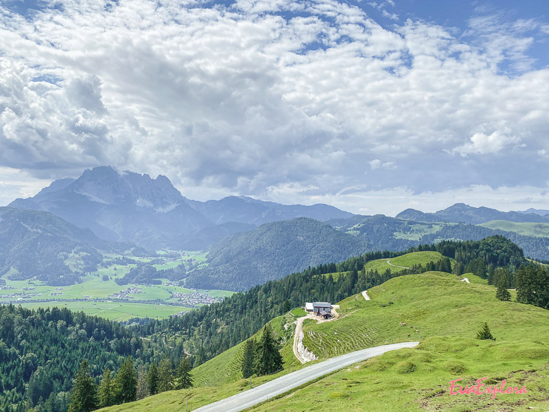 Kalksteinalmen Kitzbueheler Alpen