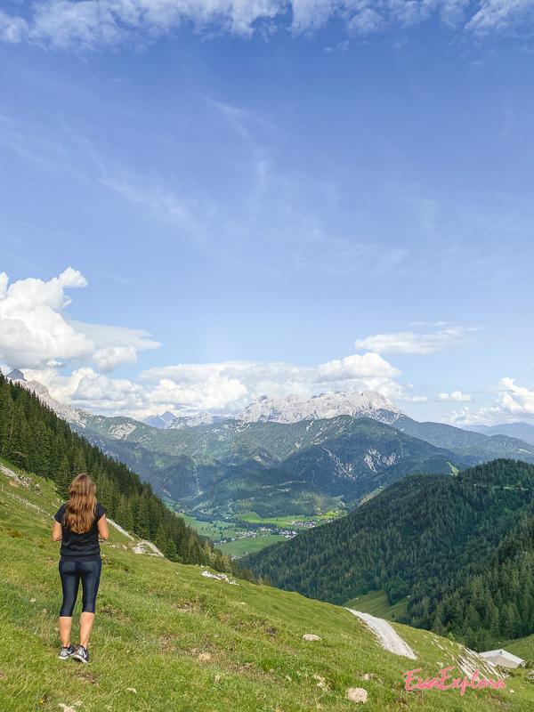 Ausblick Kitzbüheler Alpen