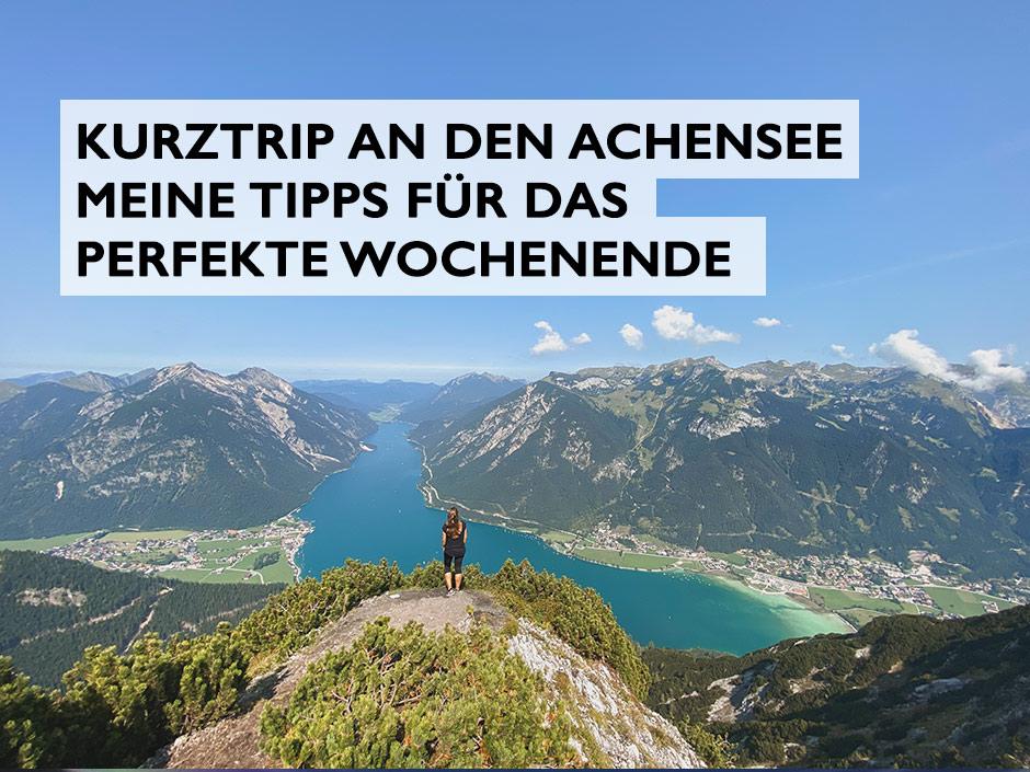 Achensee Header