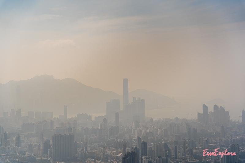 Wanderung Kowloon Peak