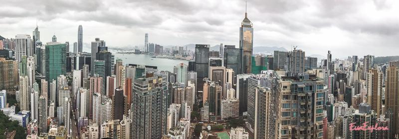 Panorama Ausblick Hongkong