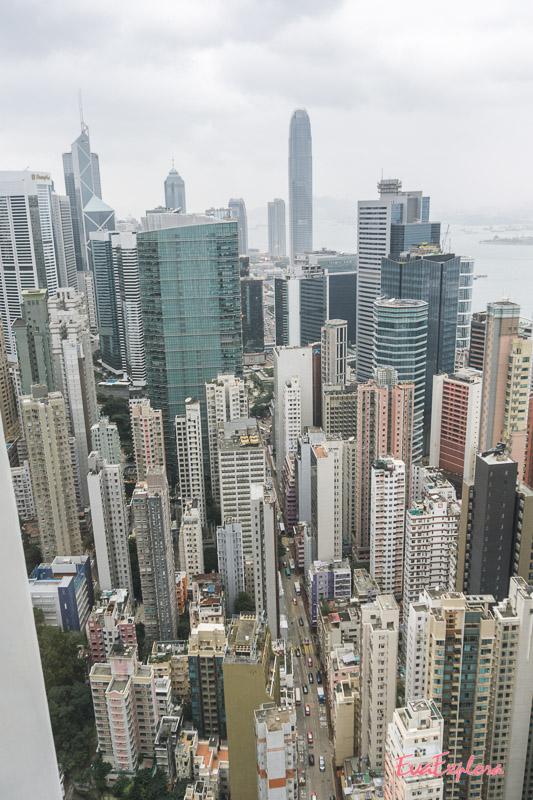 Hochhaeuser Hong Kong