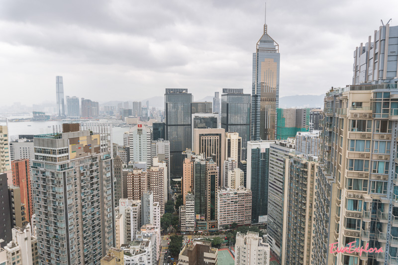 Panoramaaufzug in Hongkong