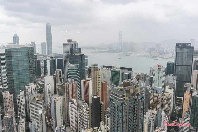 Ausblick Hongkong Island