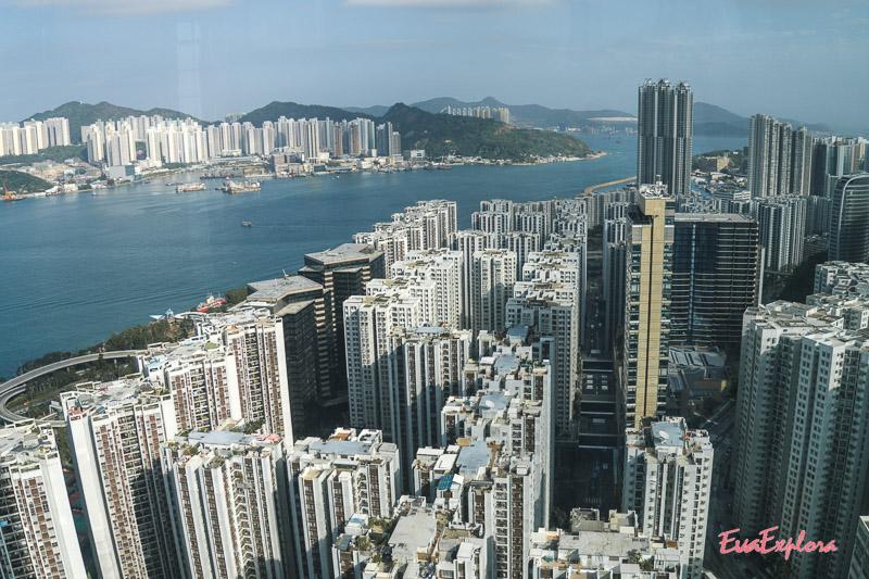 360grad Ausblick Hongkong