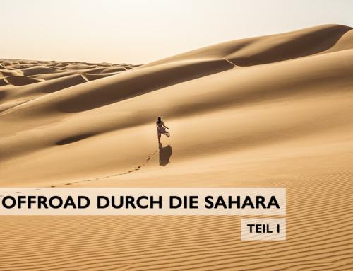 Wüstentour in Mauretanien: offroad durch die Sahara (Teil 1)