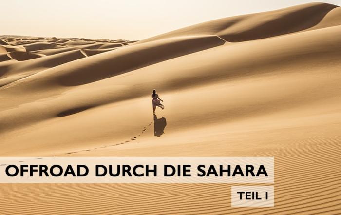 offroad durch die Sahara