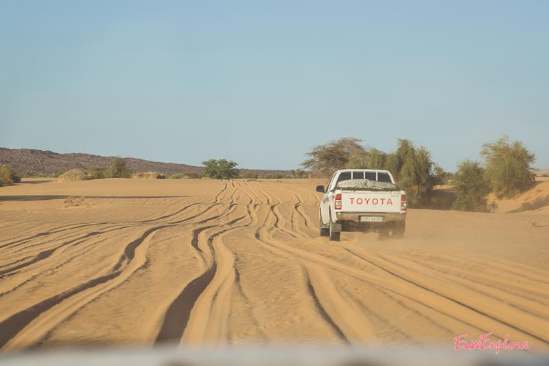 Wuestentour in Mauretanien