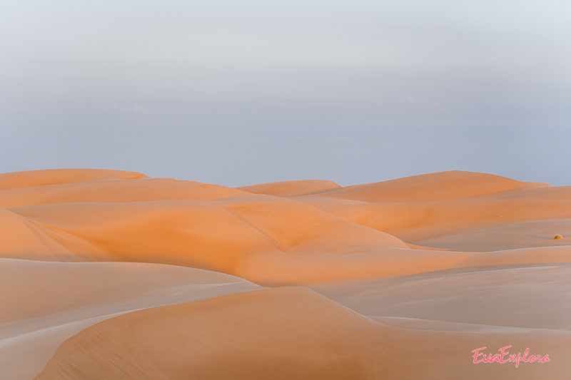 Sandduenen wie gemalt