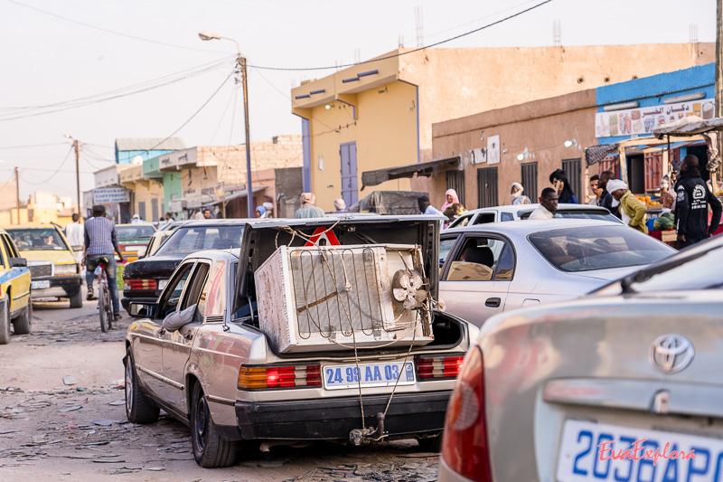 Verkehr Mauretanien