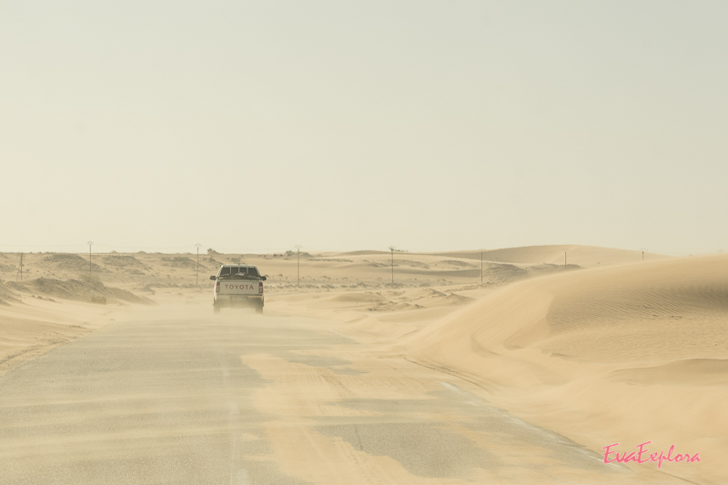 Straße nach Nouadhibou
