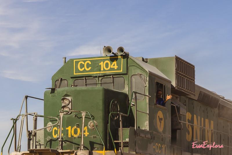 Schaffner Zug Mauretanien